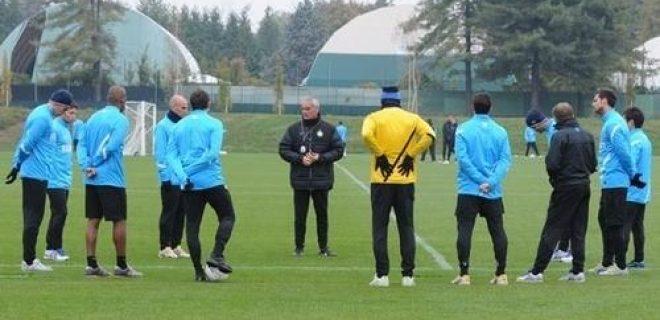 Allenamento Inter 24 ottobre