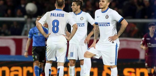Alvarez Palacio Icardi delusione Livorno-Inter