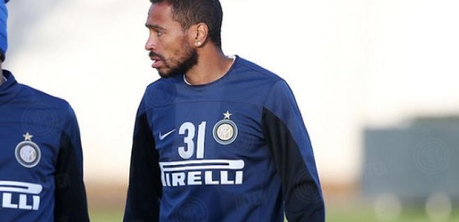 Alvaro Pereira Inter allenamento