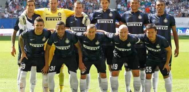 Amburgo vs Inter foto squadra