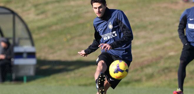 Andrea Ranocchia allenamento Inter