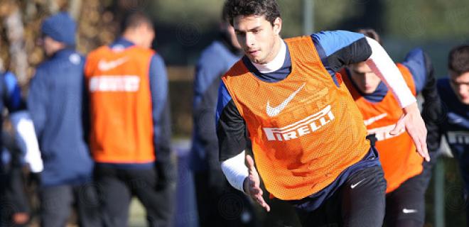 Andrea Ranocchia allenamento