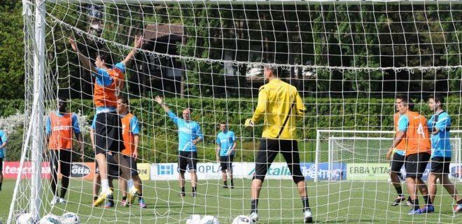 Appiano allenamento Inter 4 maggio 2012