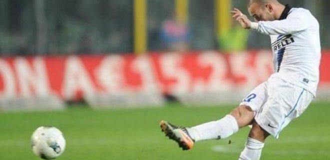 Atalanta-Inter Sneijder (2)