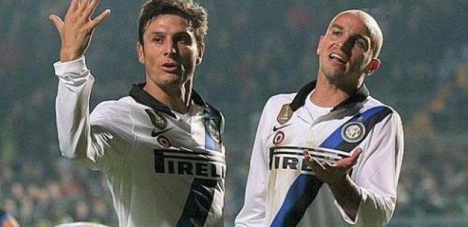 Atalanta-Inter Zanetti&Cambiasso