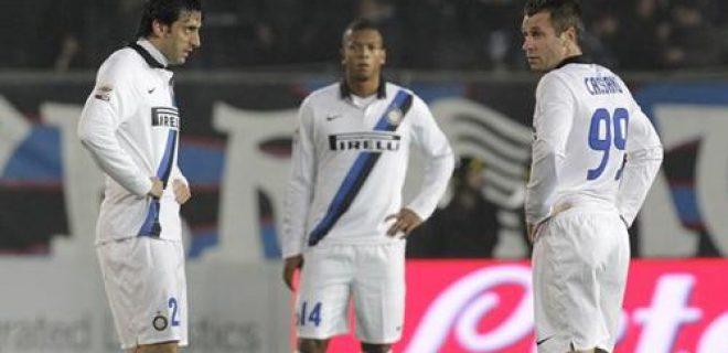 Atalanta-Inter delusione Cassano Milito Guarin