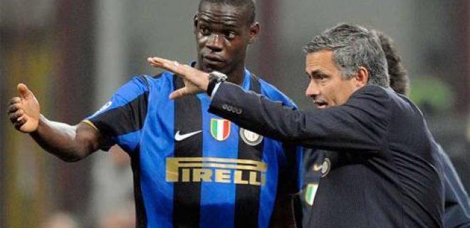 Balotelli Mourinho