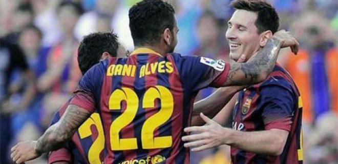 Barcellona-Levante 7-0