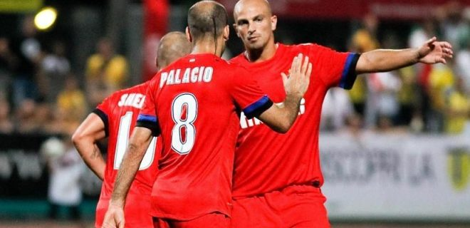Bizertin-Inter esultanza gol Palacio