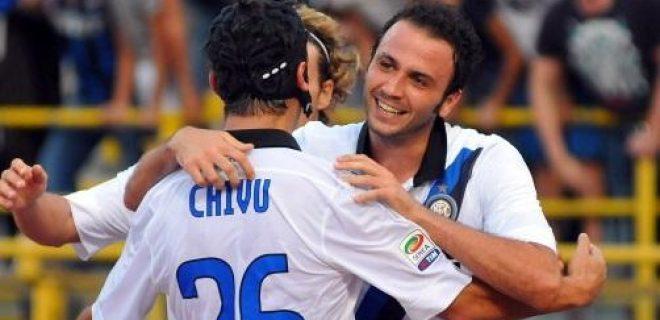 Bologna-Inter Chivu, Forlan, Pazzini