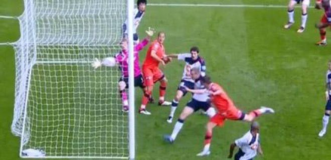 Bolton-QPR gol fantasma