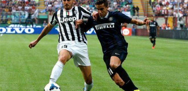 Bonucci Alvarez Inter-Juventus