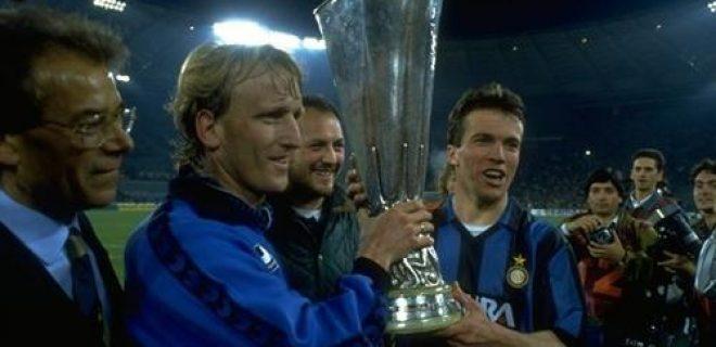 Brehme Matthaus Coppa Uefa 1990-91