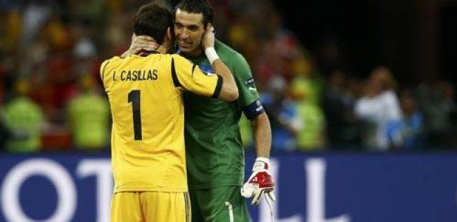 Buffon Casillas