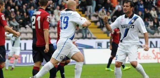 Cagliari-Inter Cambiasso Stankovic