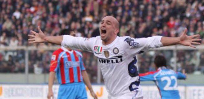 Cambiasso Catania-Inter 2010/11