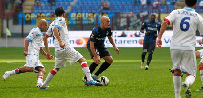Cambiasso Inter-Catania