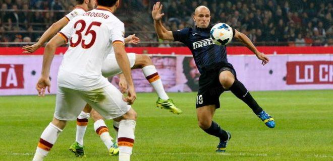 Cambiasso Inter-Roma