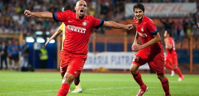 Cambiasso gol Vaslui-Inter