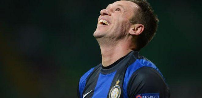Cassano delusione Inter-Tottenham