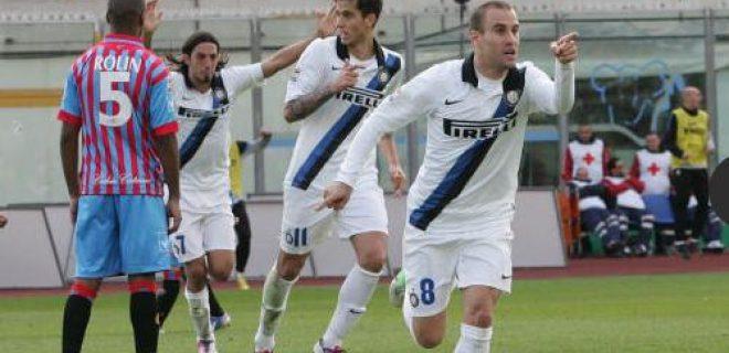 Catania-Inter 2-3 Alvarez Schelotto Palacio