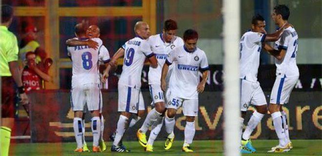 Catania-Inter esultanza