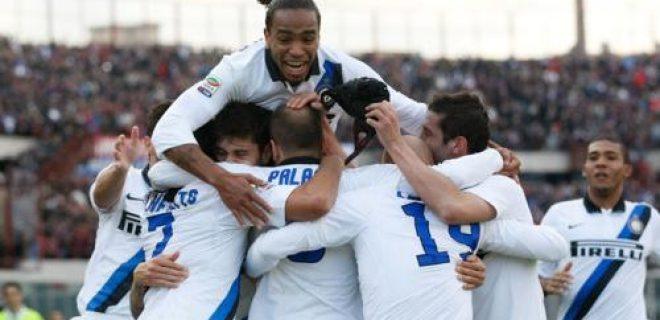 Catania-Inter esultanza ragazzi