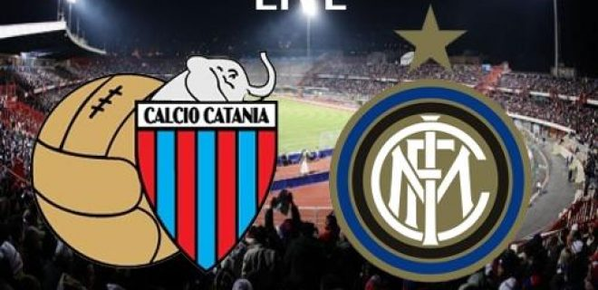 Catania-Inter live
