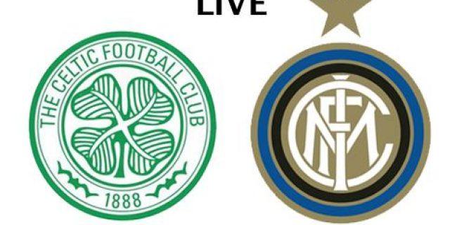 Celtic-Inter LIVE