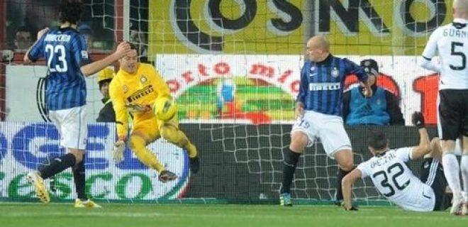 Cesena-Inter Julio Cesar