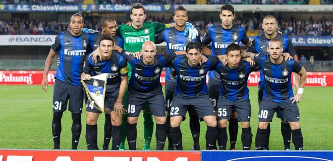 Chievo-Inter foto squadra