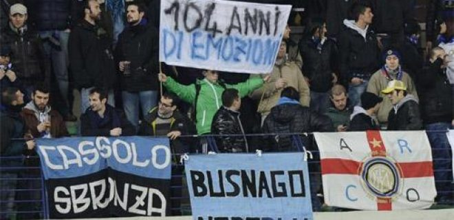 Chievo-Inter striscione