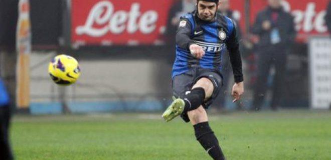 Chivu punizione Inter-Torino