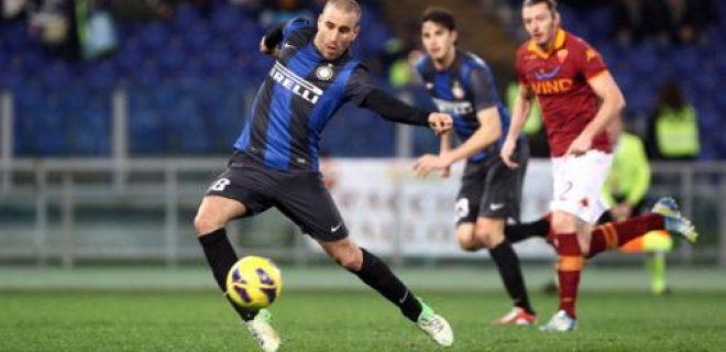 Coppa Italia, gol Palacio Roma-Inter