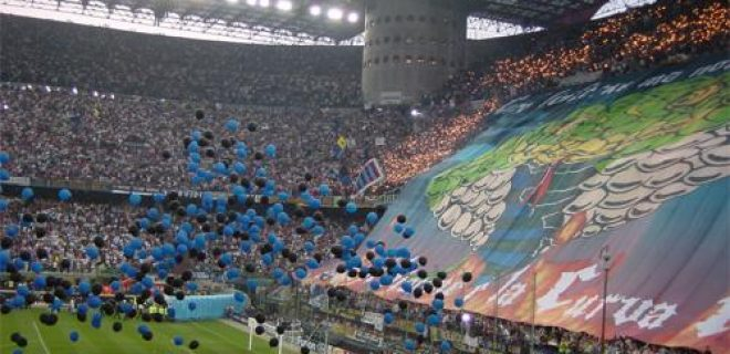 Coreografia Inter derby