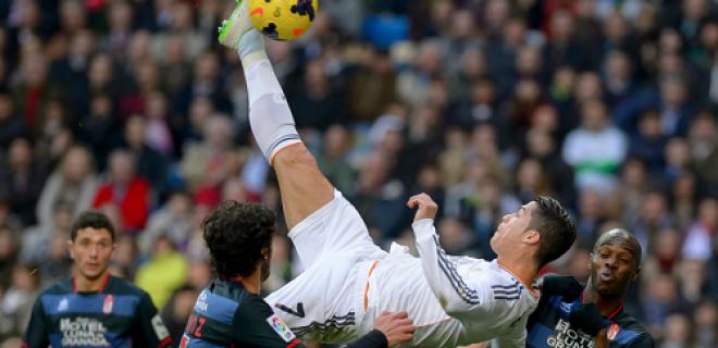 Cristiano Ronaldo rovesciata