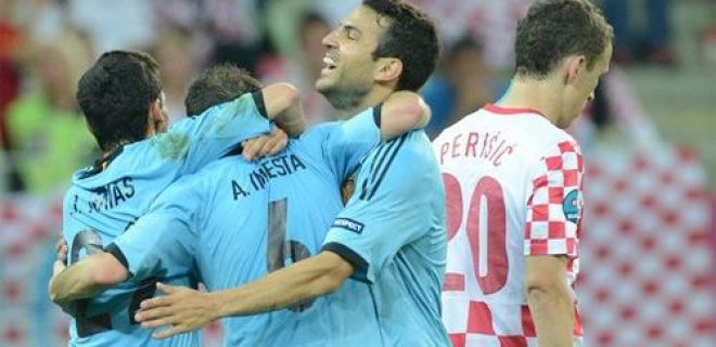 Croazia-Spagna 0-1