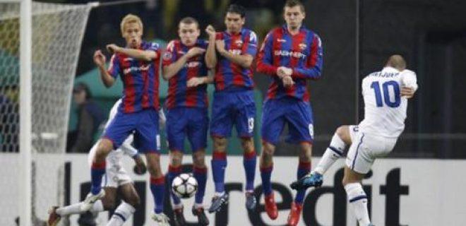 Cska Mosca-Inter 2010 punizione Sneijder