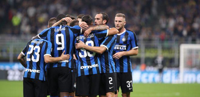 Italy, Milan, september 25 2019:  during football match FC INTER vs SS LAZIO, Italy League Serie A 2019/2020 day5, San Siro stadium