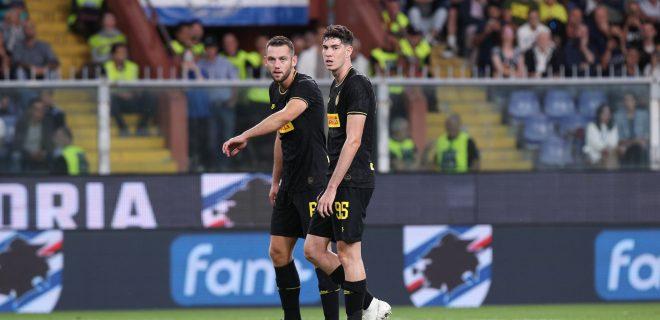 Italy, Genova, september 28 2019:  during football match SAMPDORIA vs FC INTER , Serie A 2019/2020 day6, Ferraris stadium