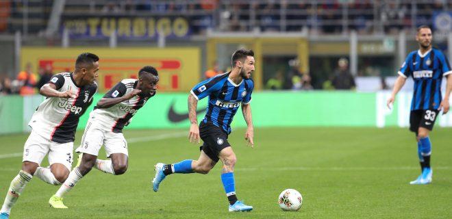 Italy, Milan, october 6 2019:  during football match FC INTER vs JUVENTUS , Serie A 2019/2020 day7, San Siro stadium stadium