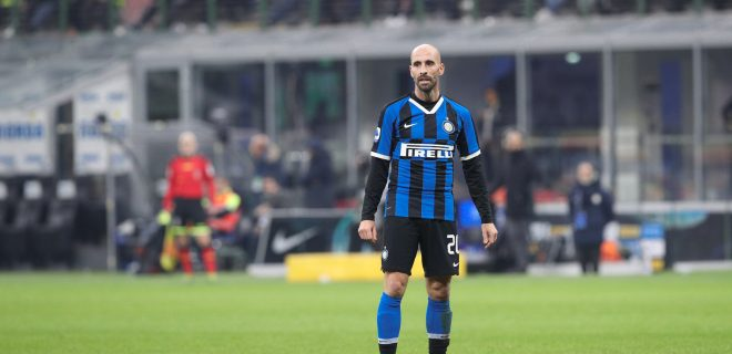 Italy, Milan, december 6 2019:  during football match FC INTER vs AS ROMA , Serie A 2019/2020 day15, San Siro stadium
