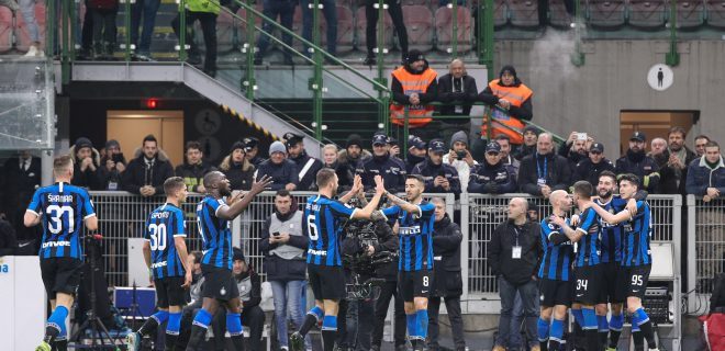 Italy, Milan, december 21 2019:  during football match FC INTER vs GENOA , Serie A 2019/2020 day17, San Siro stadium