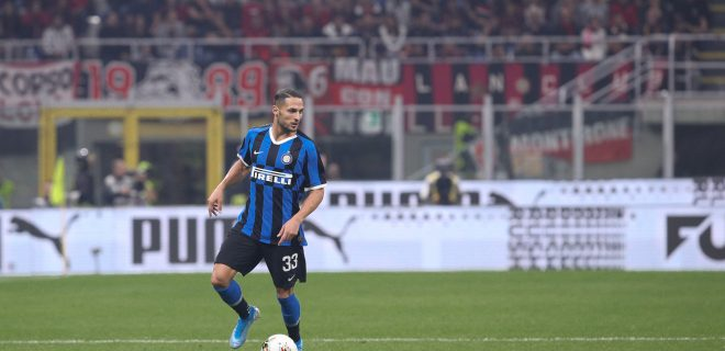 Italy, Milan, september 21 2019:  during football match AC MILAN vs FC INTER, Serie A 2019/2020 day4, San Siro stadium