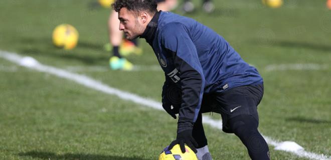 Danilo D'Ambrosio allenamento