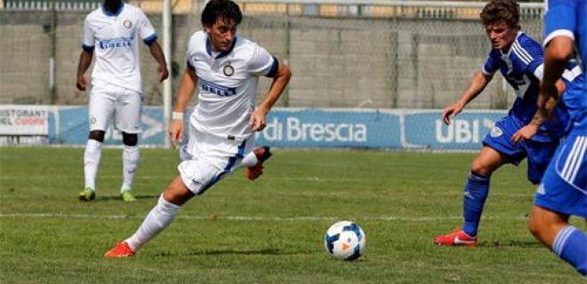 Diego Milito Inter-Brescia Primavera