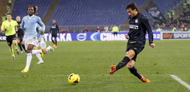 Diego Milito Lazio-Inter