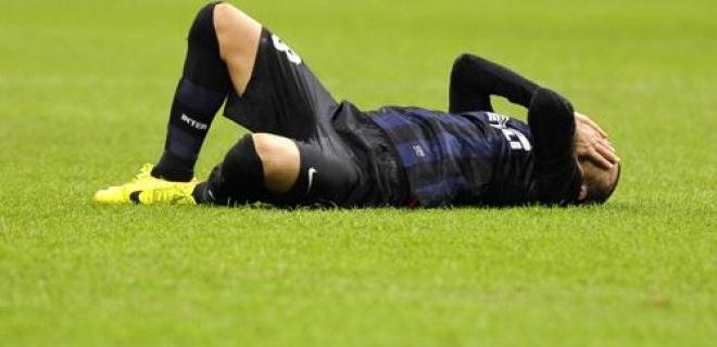 Disperazione Palacio Inter-Sampdoria