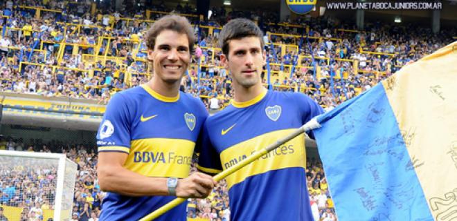 Djokovic Nadal Boca
