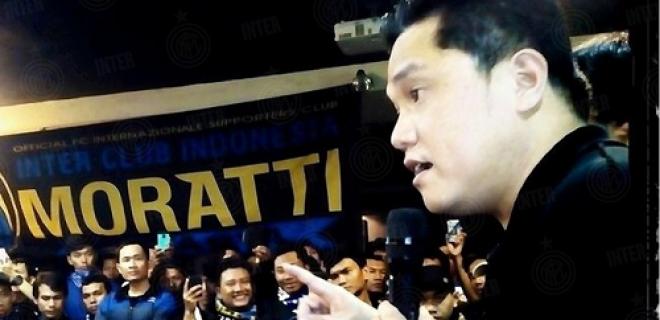 Erick Thohir Inter Club Indonesia